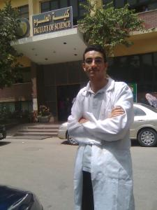 صورتي أمام كلية العلوم جامعة عين شمس