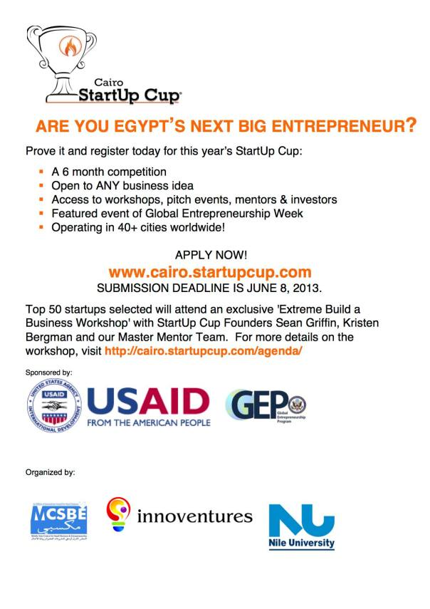 Cairo Start Up Cup Competition